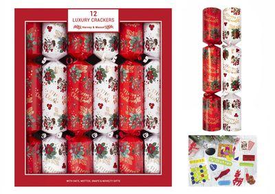 "12X14"" Luxury Leaf & Berry Crackers"