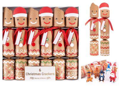 "6X12"" Gingerbread Crackers"