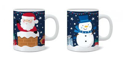 Santa & Friends Mug - Assorted Designs