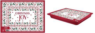 Christmas Joy Lap Tray 44X34Cm