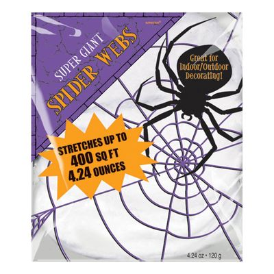 Stretchable Spiders Web