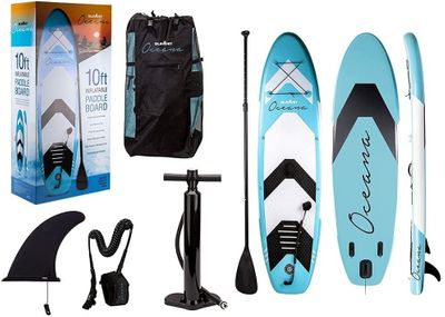 Oceana Blue Inflatable Paddle Board & Kit (10FT)