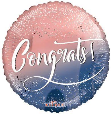 Congrats Girl Confetti Balloon (18 Inch)
