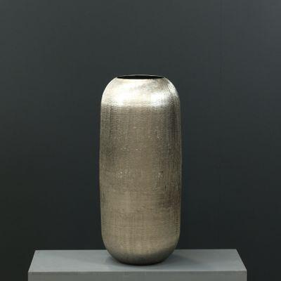 66cm Aluminium Rounded Vase