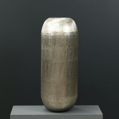 80cm Aluminium Rounded Vase