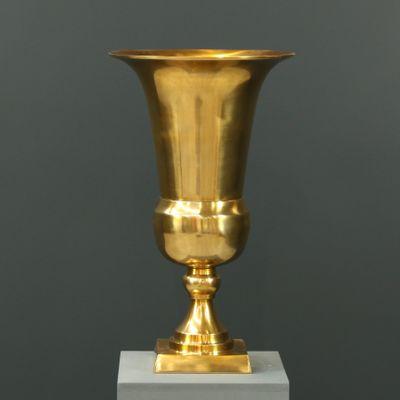 58cm Aluminium Flower Vase Gold
