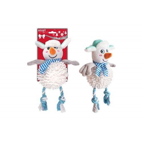 Plush Snowman Dog Toy (30cm)