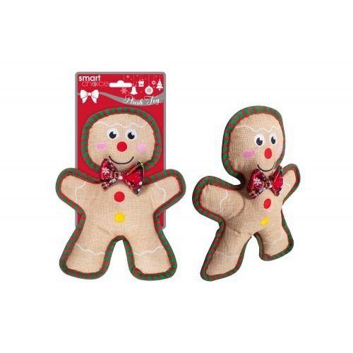 Plush Gingerbread Man Dog Toy (25.5cm)