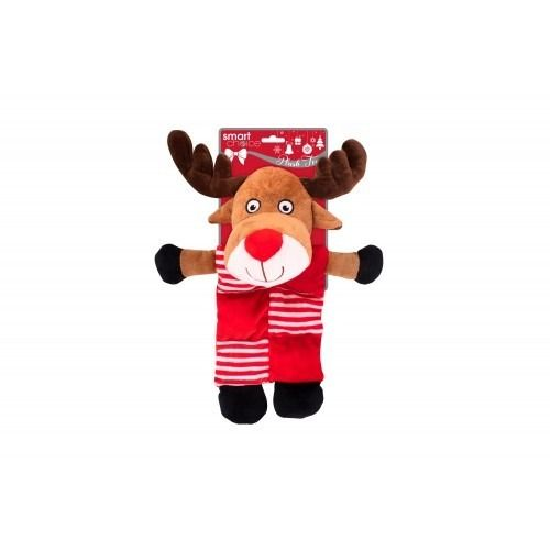 Plush Rudolph Dog Toy 6 Squeakers (38cm)