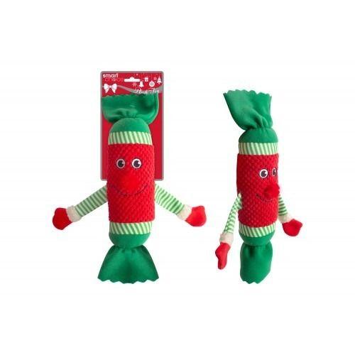 Plush Cracker Dog Toy (34cm)
