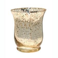 Champagne Hurricane Vase