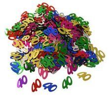 40s Multi Coloured Confetti