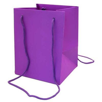 Purple Hand Tie bag