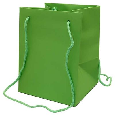 Green Hand Tie Bag