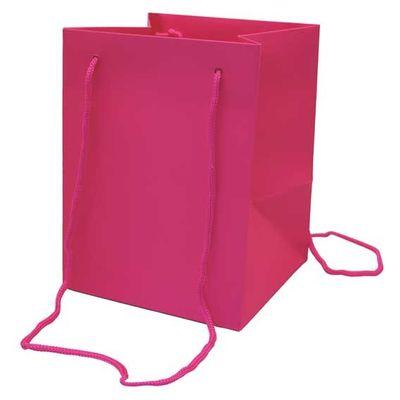 Cerise Hand Tie Bag