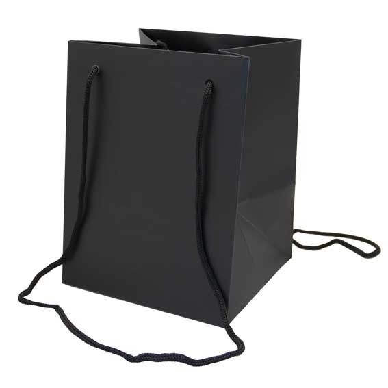 Black Hand Tie Bag