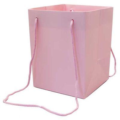 Pink Hand Tie Bag