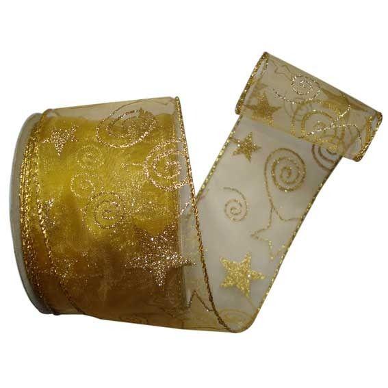 Gold Christmas Ribbon