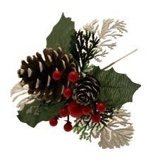 Red Christmas Pick
