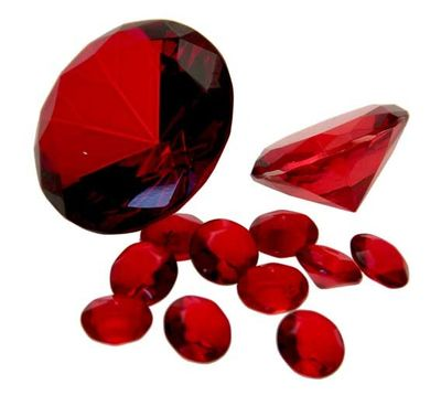 Red Table Diamonds