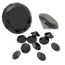 Assorted Black Table Diamonds