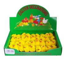 Chenille Chicks 4cm (x36)