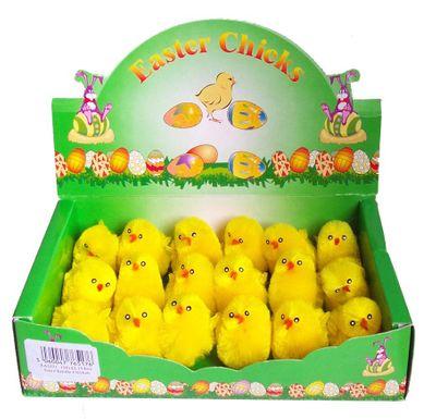 Chenille Chicks 5cm (x18)