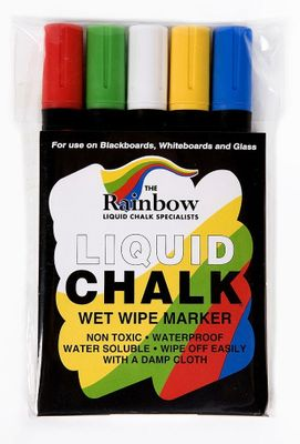 Rainbow Chalk Mixed