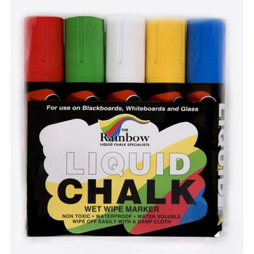 Broad Liquid Chalk Markers