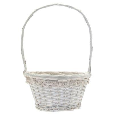 27.5cm Victoria Lace Rim Basket