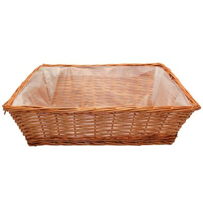 Large Rectangle Display Basket