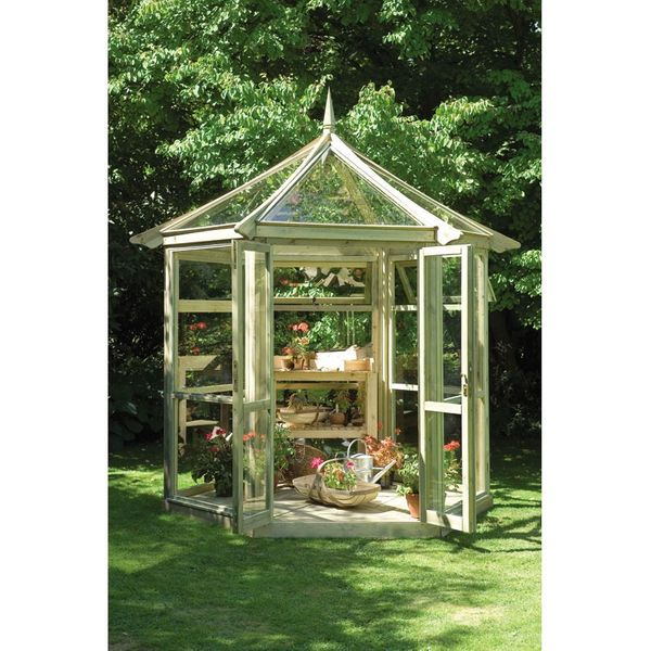 Forest Garden Glasshouse