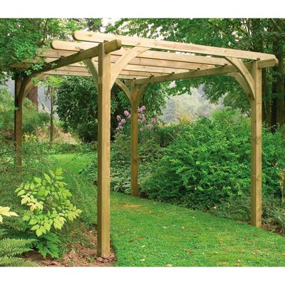 Forest Garden Ultima Pergola Kit 3.6m