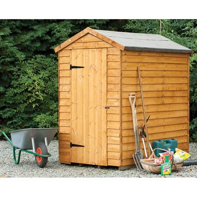 Forest Garden Security 6x4 Apex Shed