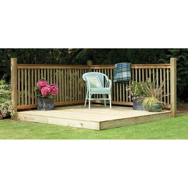 Forest Garden Patio Deck Kit