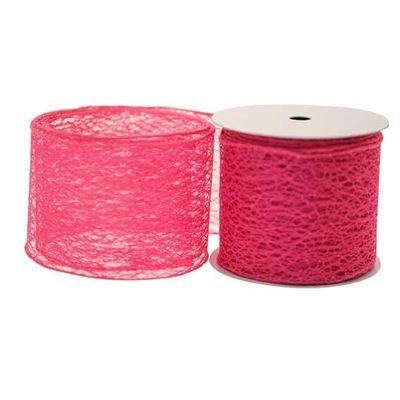 Hot Pink Web Ribbon