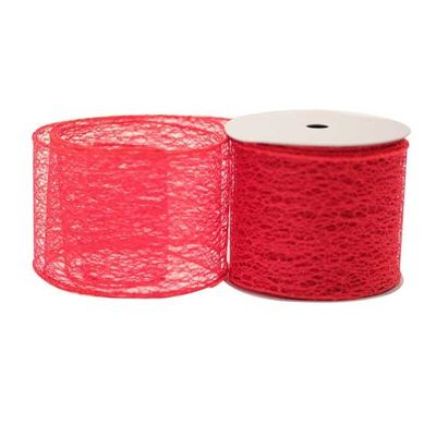 Red Web Ribbon