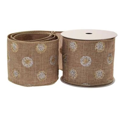 Light Brown Rustic Ribbon