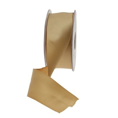 35mm Gold Satin Ribbon