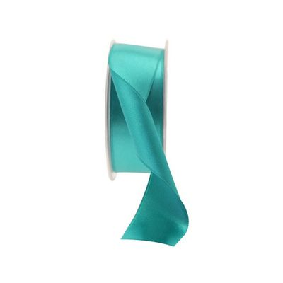 Teal Green Satin Ribbon