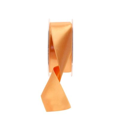 35mm Light Orange satin Ribbon