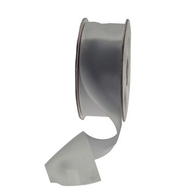 35mm Silver satin Ribbon