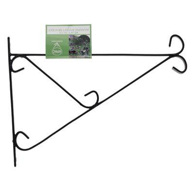 Heavy Duty Hanging Basket Bracket - 15 inch