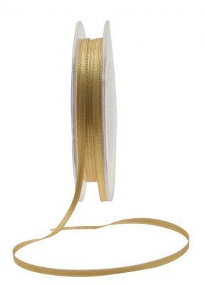 3mm Gold Satin Ribbon