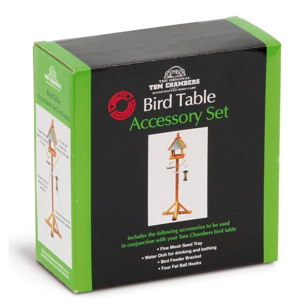 Tom Chambers Bird Feeder Accessory Set - Boxed