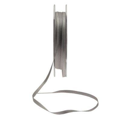 3mm Silver satin Ribbon