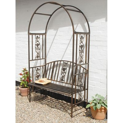 Gablemere Garden Arch and Bench