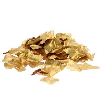 Metallic Gold Rose Petals