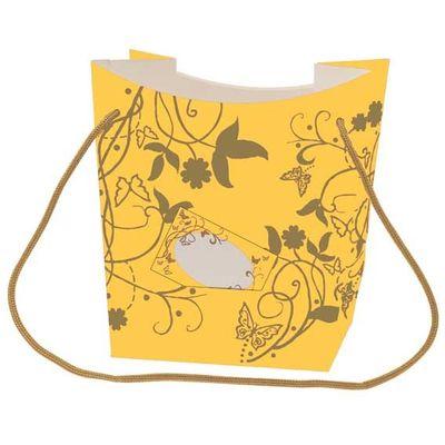 Orange Hand Tied Bag