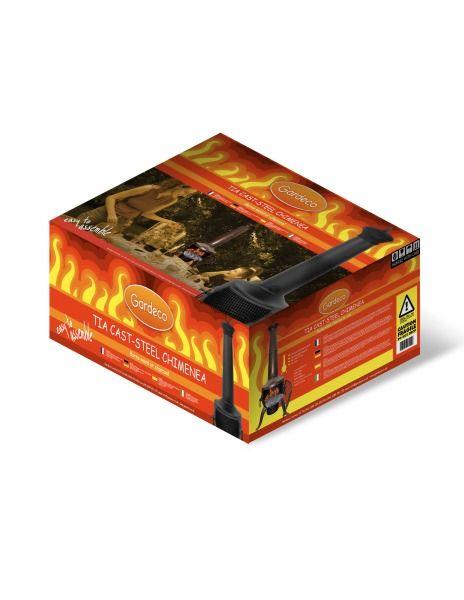 Gardeco Tia Chimenea Large - Boxed